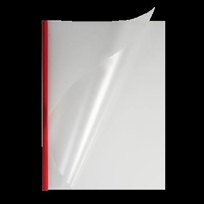 O.easyCOVER Double Clear A4 7мм красные - 40шт