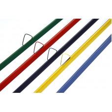 Мет. планка STARBIND 100 к-тов (верх с риг+низ), белый, 371-390