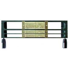 Рамка для шрифта O,Frame 1L 9mm /2L4mm  GOLDPRES