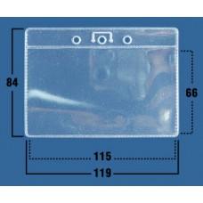 Карман горизонт. 119х84мм, (115х66мм) (100шт/уп)