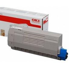 Тонер голубой для принтера OKI Pro8432WT