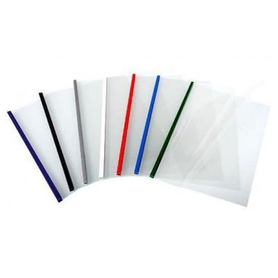 Обложки для термопереплета O.Thermotop Double Clear A4 5mm белые 50 шт.
