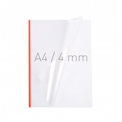 Мягкие обложки NeoCover 4 мм А4 красные упак. 40 шт