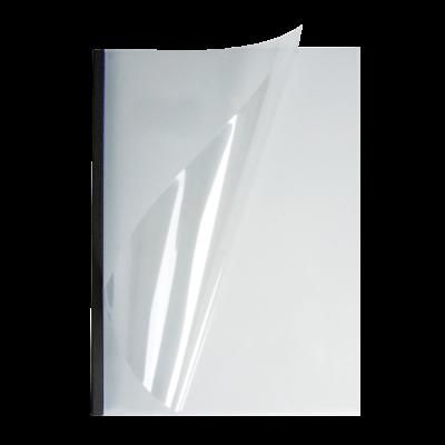 Мягкие обложки А4 O.easyCOVER прозрачные 13мм, чёрные, (95 -