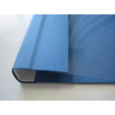 Мягкие обложки Opus C.BIND Soft Clear 299 х 214 G 32  мм.синие 25 шт..