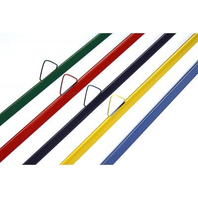 Мет. планка STARBIND 100 к-тов (верх с риг+низ), коричневый, 351-370
