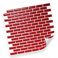 Интерьерная плёнка CST10 red mosaic