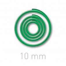Пластиковые переплётные колечки O.easyRing 10mm  зеленые (150 шт.в упаковке) до 50 листов