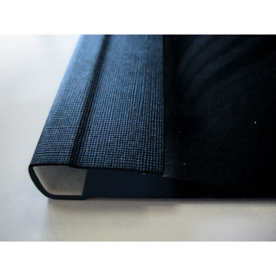 Мягкие обложки C.BIND Softclear 299 х 214 A 10 мм.черные 10 шт.