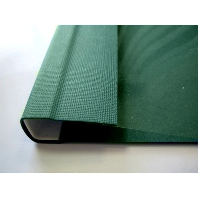 Мягкие обложки C.BIND Softclear 299 х 214 D 20 мм. зеленые 10 шт.