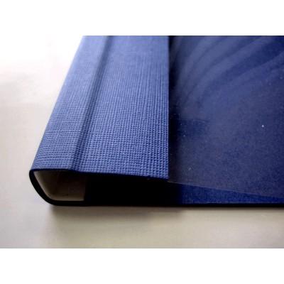 Мягкие обложки C.BIND Softclear 299 х 214 E 24 мм.темно-синие 10 шт.