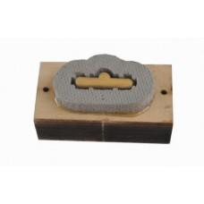 Вырубной нож под евроотверстие Paperfox EP-3 25 mm