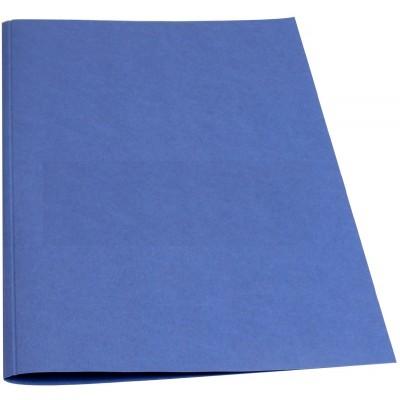 Обложки для термопереплета O.Thermolinen plain Mini темно синие 100 шт.
