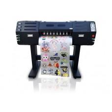 Принтер рулонный DTF печати Techno Print 700RB с 2 печатающими головками