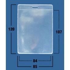 Карман вертикальный (85х120мм), внутр. 84х107мм, 250 мик (100 шт)