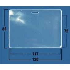 Пакет прозрачный горизонтальный 120х85мм, (117х72мм) (100шт)