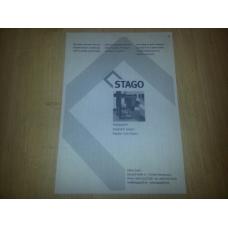 Вощёная бумага Stago А4 10 листов