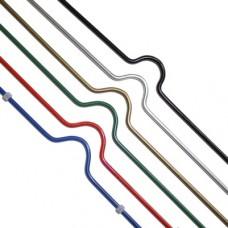 Ригель для календарей 105 мм белый 100шт/уп