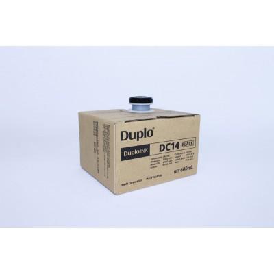 Кpаска чеpная DUPLO DC14 (600 мл), C1/105, M3/400, L2/500