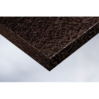 Интерьерная плёнка T7 шоколадное полотно