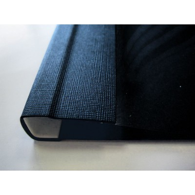 C.BIND O.Soft Cover 299x214 F (28mm) черные O.Soft Clear /25/