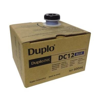 Краска синяя DUPLO DC-12 (600мл), C100/105, M300/400