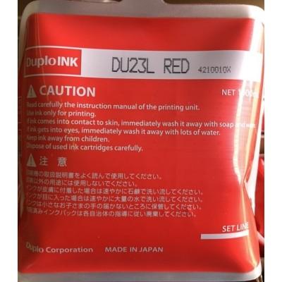 Краска красная DUPLO DU-23L (1л) 430/460/550/850