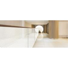 Плёнка  самоклеящаяся LINEA 18 (белые линии)