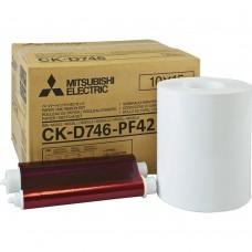 CK-D746-PF42 5х10+10х10=10x15 (комплект для фотопеч. (2х400)