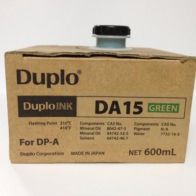 Краска Duplo DA-15 600ml A100 зеленая