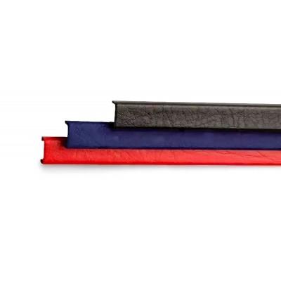 """Канал металлический с покрытием """"кожа"""" Opus Mundial  304 мм.10 мм.красные 10 шт."""