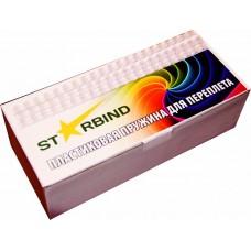 Пластиковые пружины для переплета STARBIND 8 мм.прозрачные /100шт./