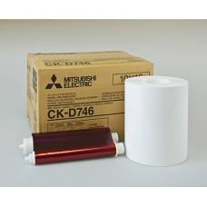 CK-D746 10x15 комплект для фотопечати (2х400 кадров)