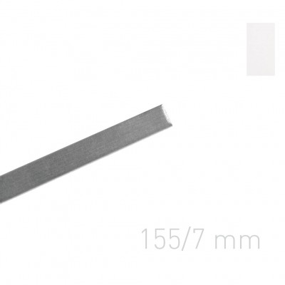 """Канал металлический с покрытием """"ткань"""" Opus Classic 155 мм.7 мм.белые 10 шт."""