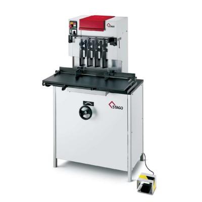 Бумагосверлильная машина Stago PB 5010-4 FS многоголовочная со скользящим столом