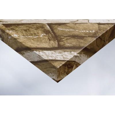 Интерьерная плёнка U8 коричневый камень