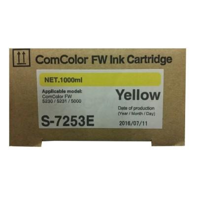Краска Riso ComColor FW желтая
