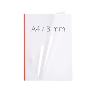 Обложки для термопереплета Opus NeoCover 3mm красные 50 шт.