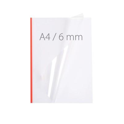 Обложки для термопереплета Opus NeoCover 6mm красные 30 шт.
