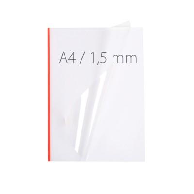 Обложки для термопереплета NeoCover Mini красные 60 шт.