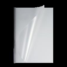 Мягкие обложки матовые O.easyCOVER A4 13мм серебряные 30шт