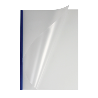 Мягкие обложки А4 O.easyCOVER матовые 13мм, синие, (95 - 125