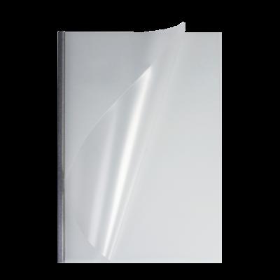 Мягкие обложки А4 O.easyCOVER матовые 7мм, серебряные, (46 -
