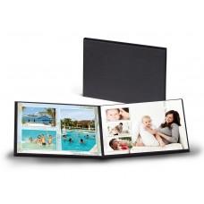Альбом для фотографий 10х15 мини черный